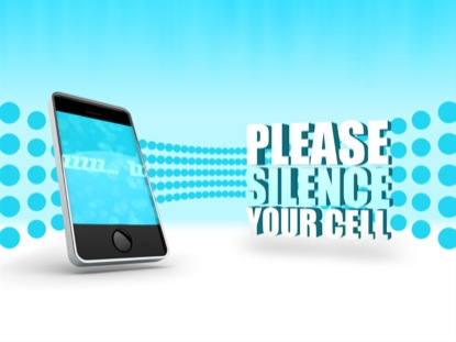 SILENCE CELL PHONES FUNNY LOOP