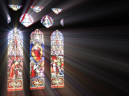 STAIN GLASS ASCENSION