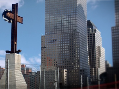 STEEL CROSS GROUND ZERO