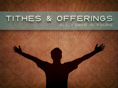 TITHES OFFERINGS WORSHIP LOOP