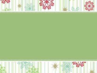 VINTAGE HOLIDAY FANCY GREEN