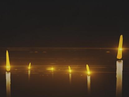 WINTER LIGHT CANDLES