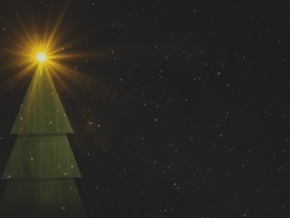 WINTER LIGHT CHRISTMAS TREE