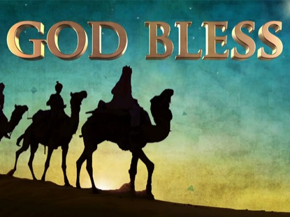 THREE WISE MEN GOD BLESS