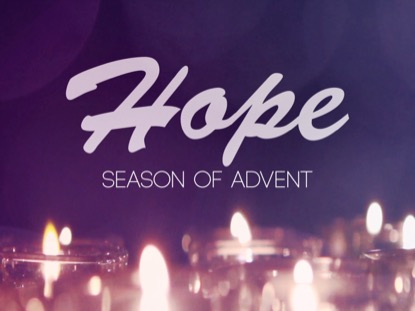 ADVENT CANDLES HOPE MOTION
