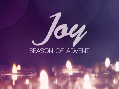 ADVENT CANDLES JOY MOTION