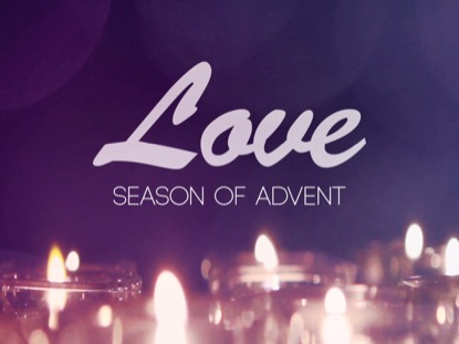 ADVENT CANDLES LOVE MOTION