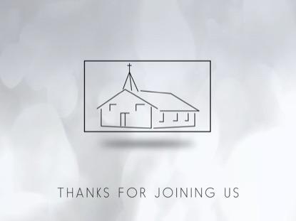 BACK TO CHURCH CLOSING MOTION