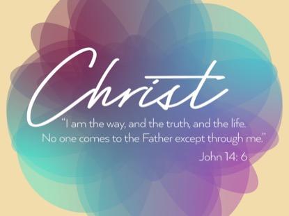 CHRIST ALONE JOHN MOTION