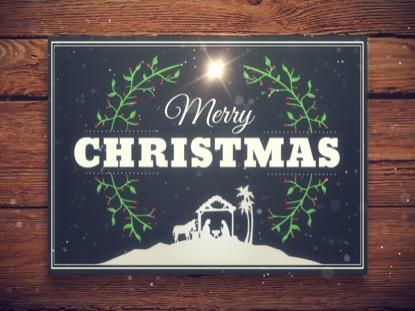 CHRISTMAS MANGER MOTION 1