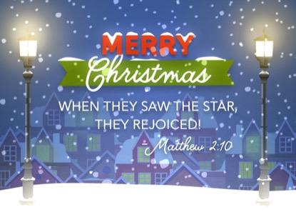 CHRISTMAS VILLAGE CHRISTMAS MOTION