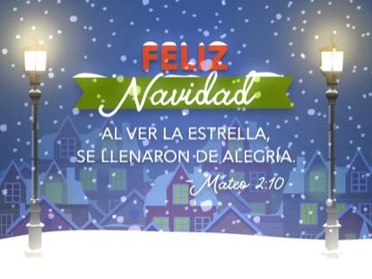 CHRISTMAS VILLAGE CHRISTMAS MOTION - SPANISH