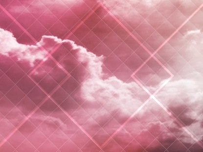 COLORED CLOUDS PINK