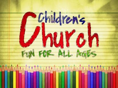 COLOR PENCILS CHILDRENS CHURCH MOTION