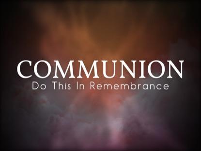 COMFORTING SPIRIT COMMUNION MOTION