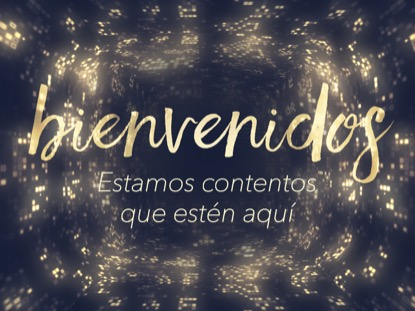 DIVINE RADIANCE WELCOME MOTION - SPANISH