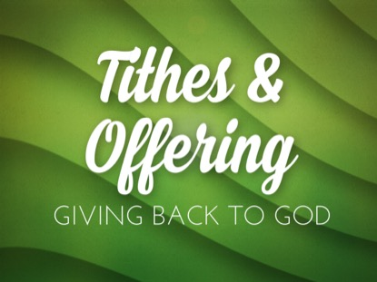 EMERALD WAVES TITHING MOTION