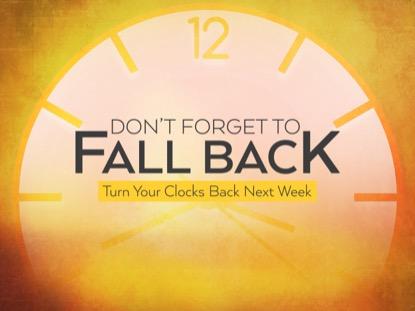 FALL BACK CLOCK MOTION