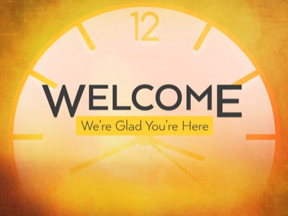 FALL BACK WELCOME MOTION