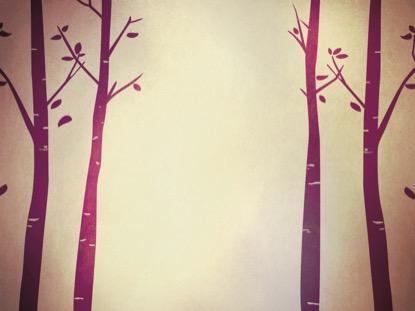 FALL BIRCH TREES PURPLE 2 MOTION