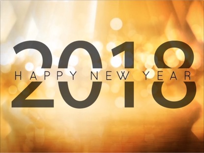 GOLDEN NEW YEAR 2018 MOTION