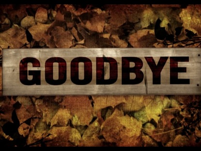 GOODBYE BURLAP LEAVES