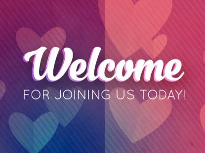 HEARTFELT LOVE WELCOME MOTION