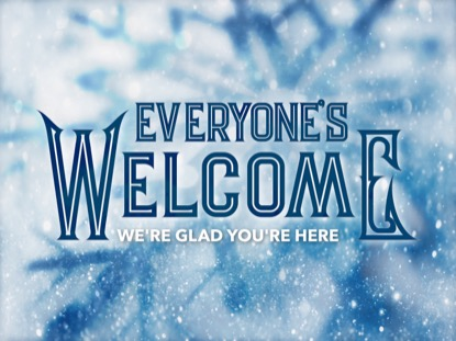 ICY CHRISTMAS WELCOME MOTION