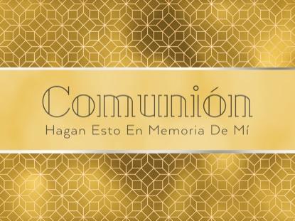 NEW YEAR DECO COMMUNION MOTION - SPANISH
