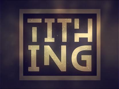 OBSERVING LENT TITHING MOTION