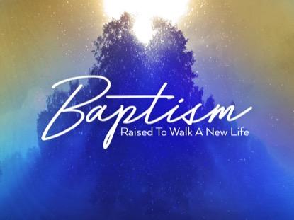 ONLY CHRIST BAPTISM MOTION
