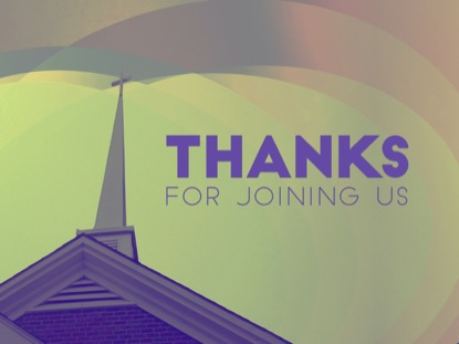 OUR CHURCH CLOSING MOTION