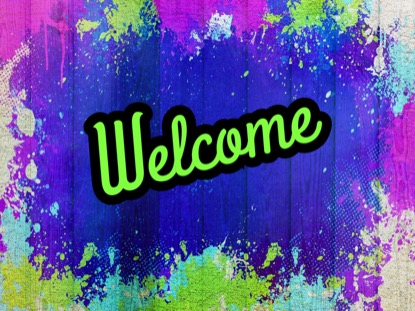 PAINTED JOY WELCOME MOTION