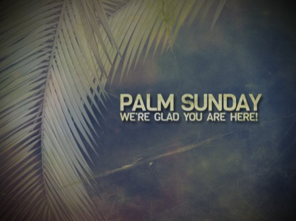 PALM BRANCHES WELCOME 2