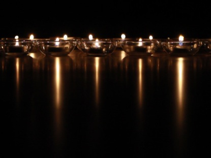 REFLECTIVE CANDLES BLANK