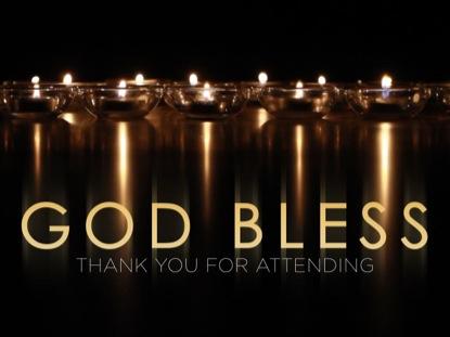 REFLECTIVE CANDLES GOD BLESS