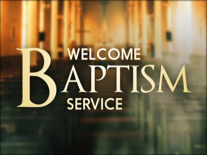 SANCTUARY BAPTISM MOTION