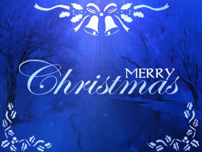 SAPPHIRE CHRISTMAS MERRY CHRISTMAS