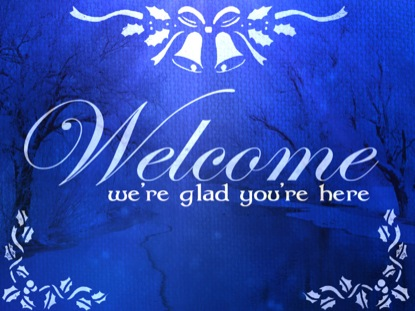 Sapphire Christmas Welcome | Playback Media | WorshipHouse Media