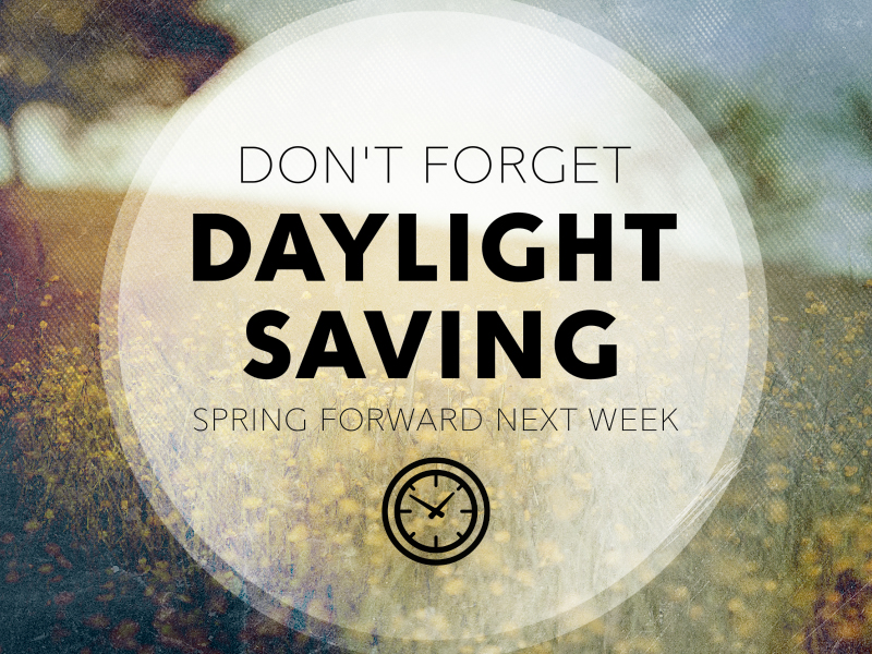 SPRING FORWARD 1 MOTION