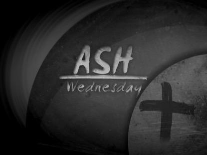 STONE ASH ASH WEDNESDAY