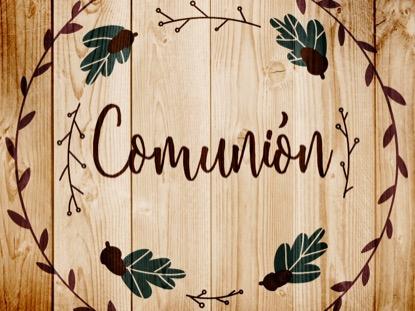 THANKSGIVING ART COMMUNION MOTION - SPANISH