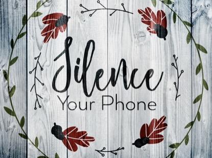 THANKSGIVING ART PHONE MOTION