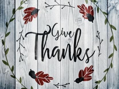THANKSGIVING ART THANKS MOTION