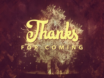 THANKSGIVING GRATITUDE CLOSING 2 MOTION