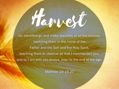 THE GREAT COMMISSION MATTHEW 28 MOTION