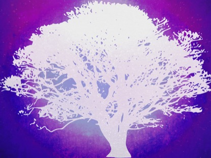 TREE OF LIFE PURPLE 2 MOTION