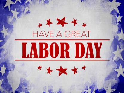 USA HOLIDAY GRUNGE LABOR MOTION