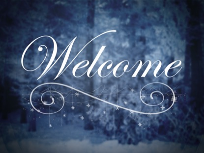 WINTER STORY WELCOME MOTION