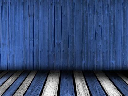 WOODEN DANCE FLOOR BLUE